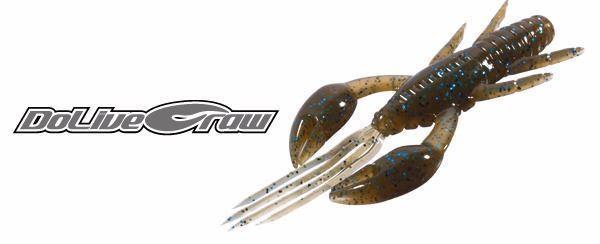 """cangrejo de vinilo Dolive Craw 3"""" de OSP con esencia y aroma muy efectivo"""