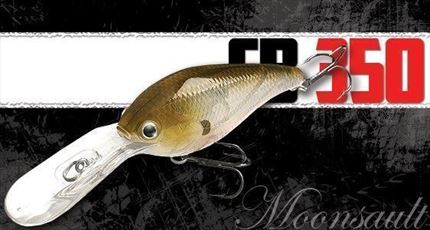 Crankbait Moonsault CB-350, Spanish Alburno de Lucky Craft