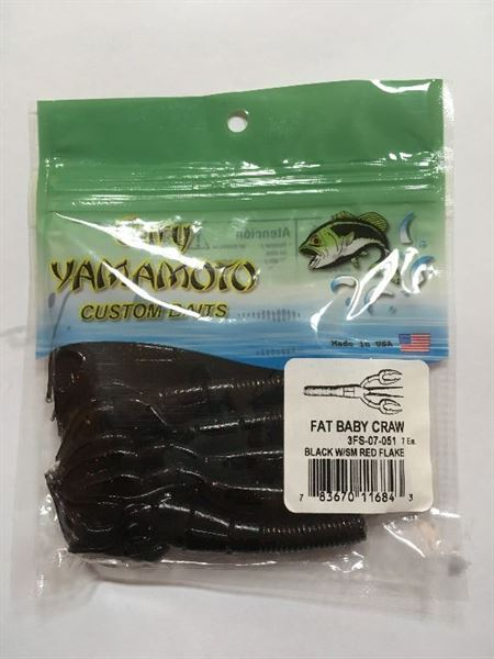 GRY-FATBABYCRAW-051 (051-Black W/Sm Red Flake)