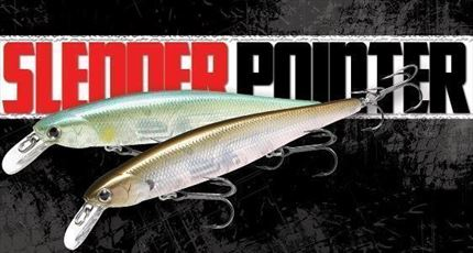 Jerkbait Slender Pointer 112MR, Spanish Alburno de Lucky Craft