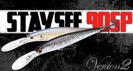 Jerkbait Staysee 90SP V2, Spanish Alburno de Lucky Craft