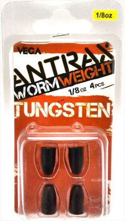 Plomos bala Tungsteno Worm Weight VEGA