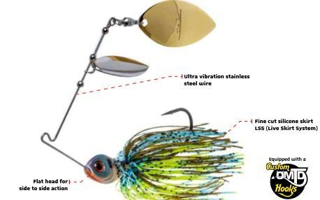 Spinnerbaits VENATOR DOUBLE WILLOW MOLIX