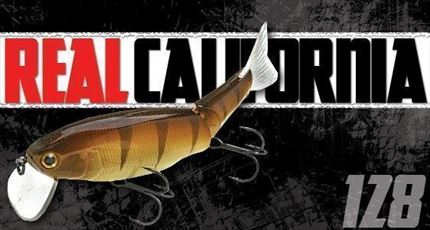 swimbait Real California 128, Spanish Alburno de Lucky Craft